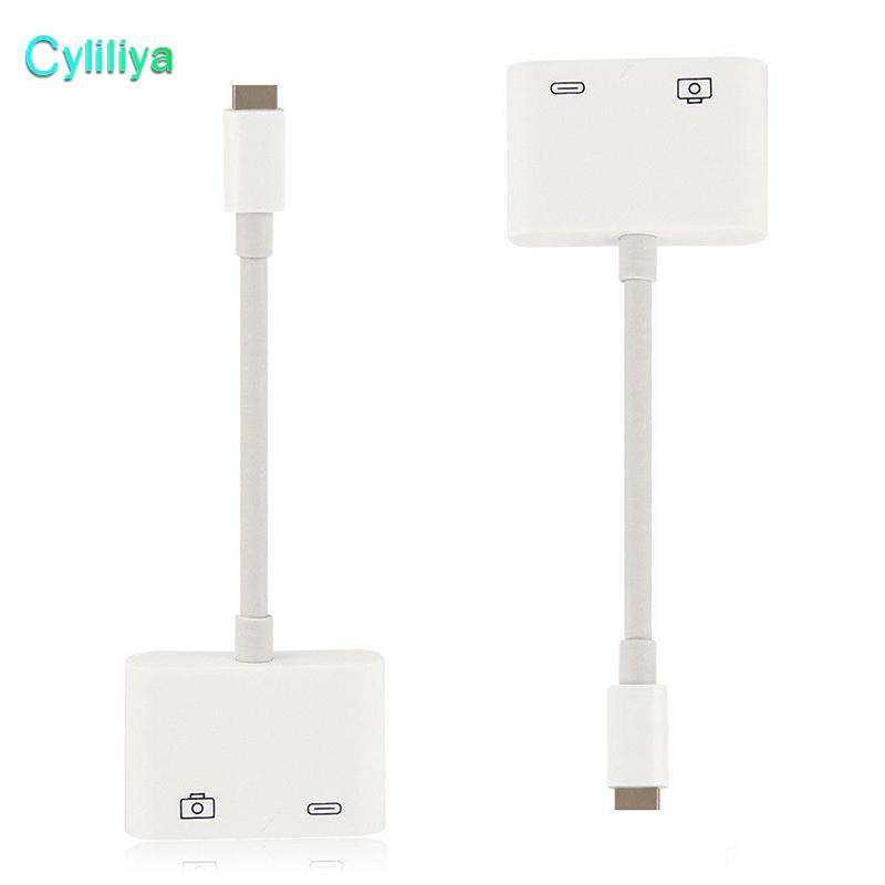 Lightning to USB 3 Camera Reader Adapter Cable For iPhone 5S 6 7 8 Plus iPhoneX iPad iOS11 Data Sync Charge Kable Professional Connector