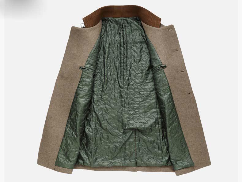Mwxsd marke hochwertige wintermänner warme wolle jacke und mantel männer wollene dicke jacke für männliche parka mantel