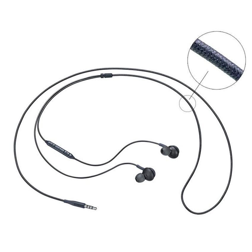 EO-IG955 3,5-mm-Bass-Headset-Kopfhörer-Mikrofon + Lautstärkeregler für Samsung Galaxy S8 Plus S7 Edge Note 8-Ohrhörer-Kopfhörer-Ohrhörer
