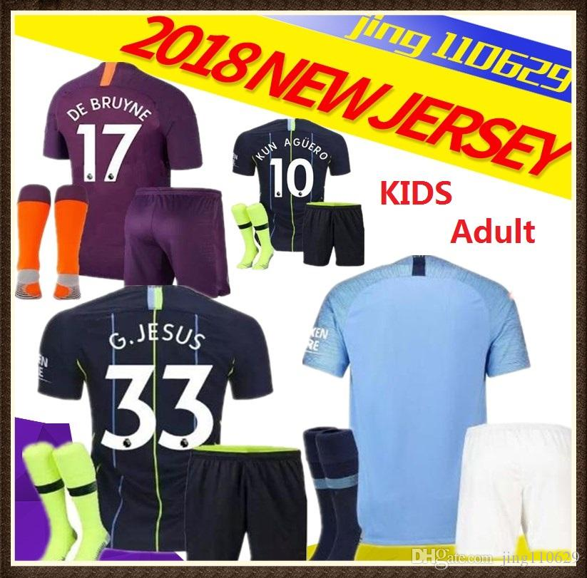 719f504e3 ... best price 2018 18 19 manchester city soccer jersey g.jesus kun aguero  sane sterling