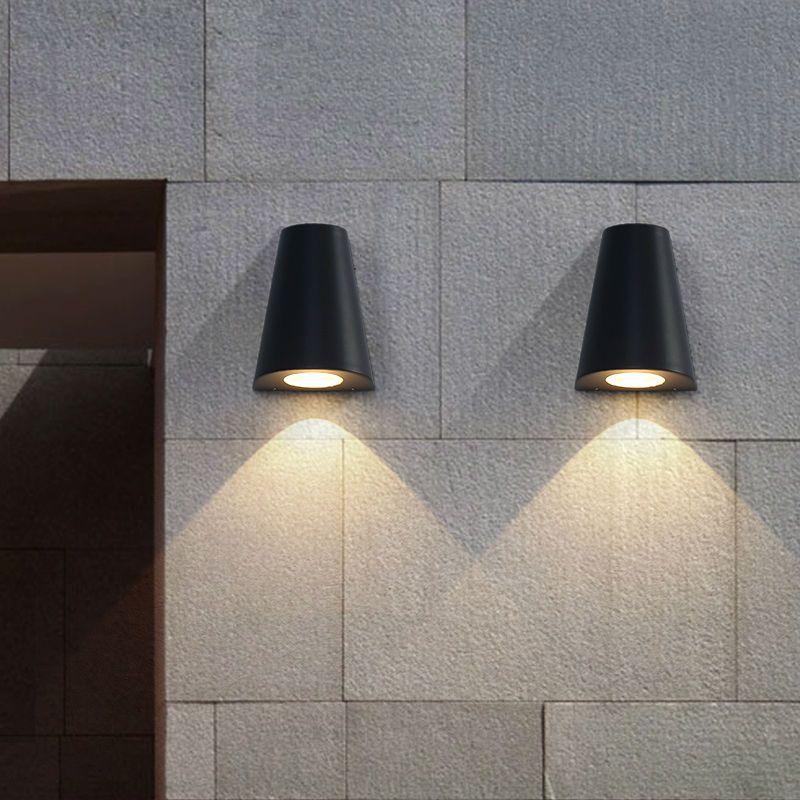 Led Wall Light Ip65: 2019 Modern LED Wall Light Porch Lights Waterproof IP65