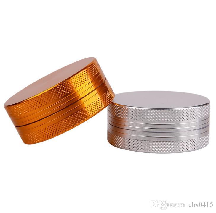 Accendisigari 2 strati 55mm, lappatrice galvanica liscia, rettificatrice in lega di alluminio