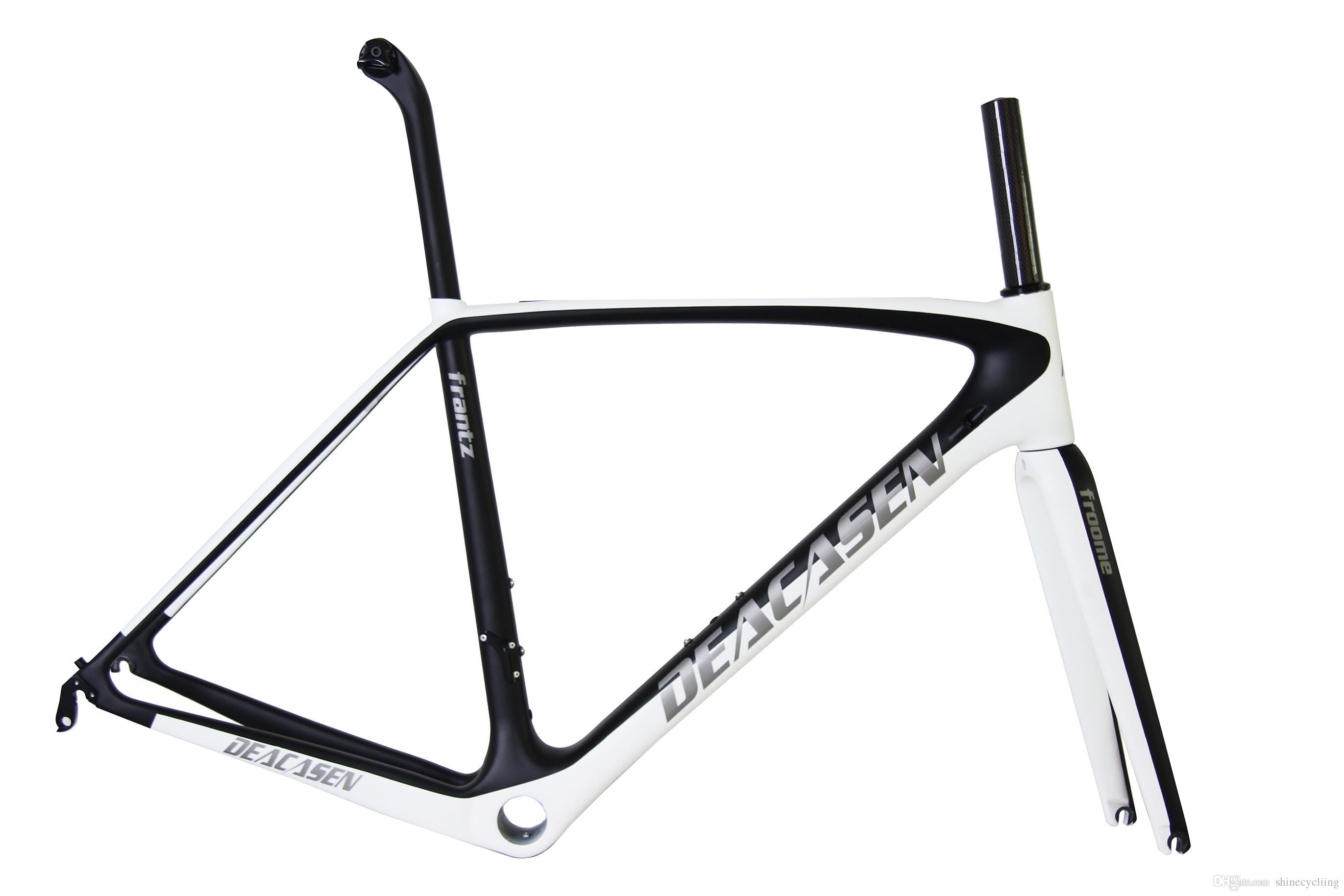 Carbon Fiber Bike Frameset Aero Carbon Road Frame Frame Carbon Fibre ...