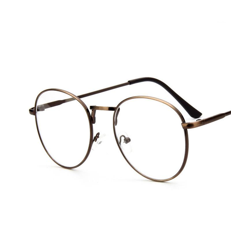 KESMALL Fashion Retro Glasses Frame Korean Myopia Eyeglasses Frames ...