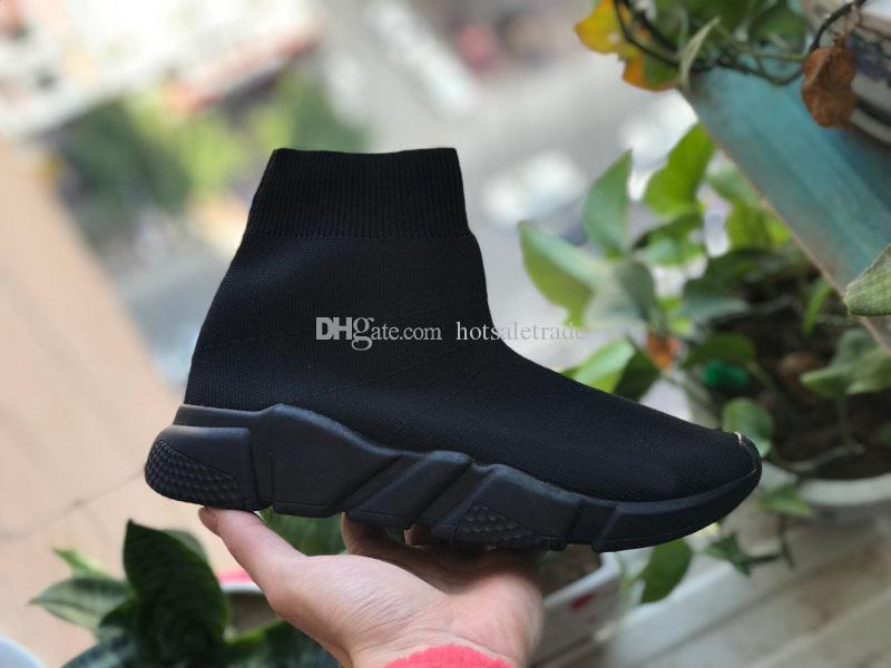 Scarpe Calzino di lusso Scarpe da ginnastica Casual Scarpe da ginnastica di alta qualità Scarpe da ginnastica Calzino da corsa nero Scarpe da uomo Scarpe da donna di lusso