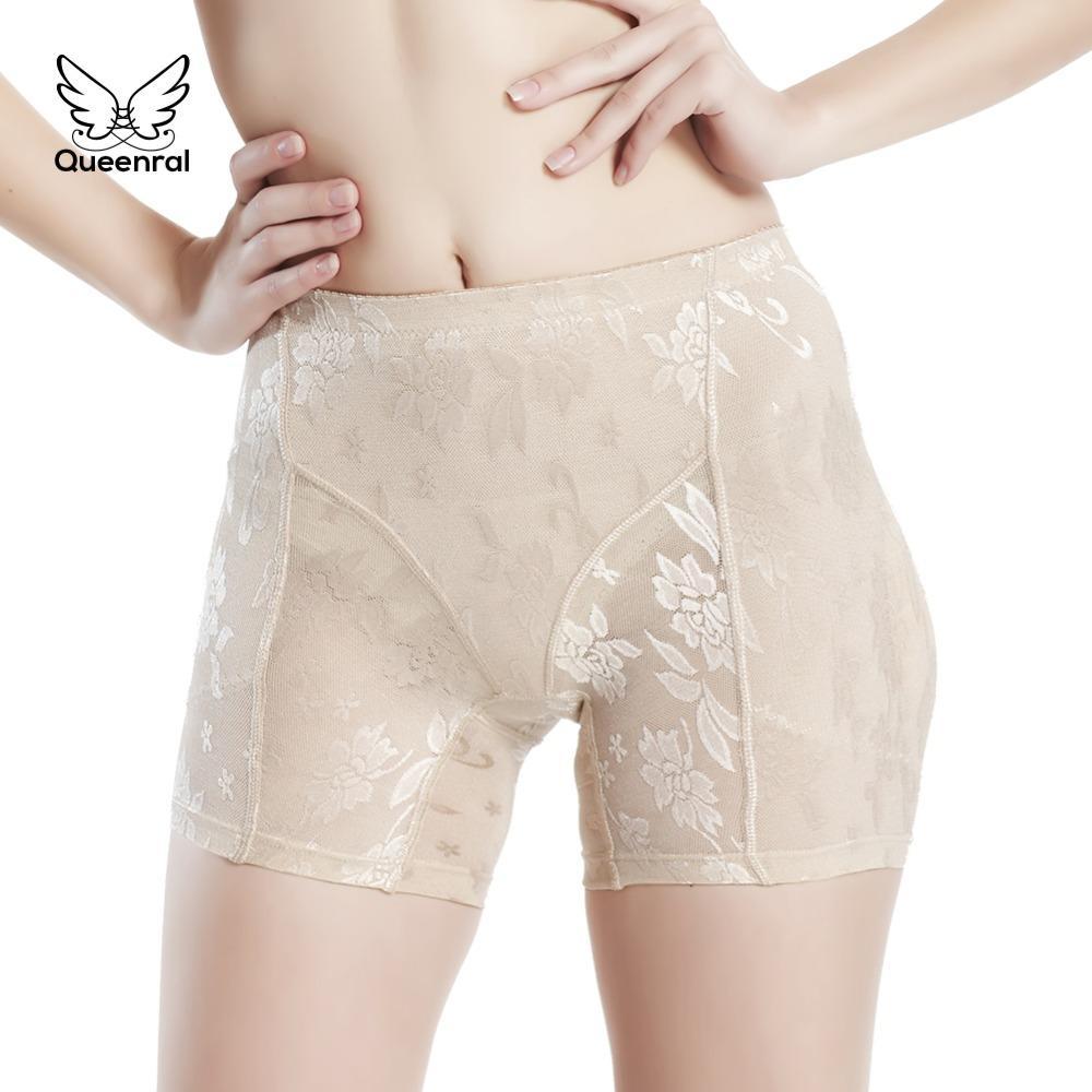 9f6f992ee Compre Mulheres Cuecas De Cintura Alta Body Shaper Slimming Sexy Butt Lifter  Almofadas De Quadril Falso Ass Butt Enhancer Sem Costura Acolchoado Calcinha  De ...