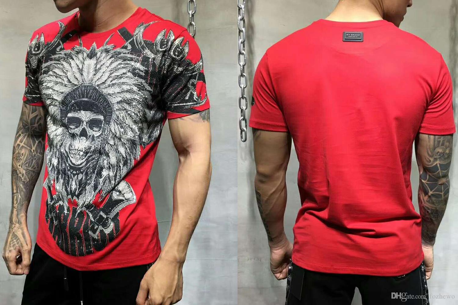 c5fb2ec382b Men T SHIRT ROUND NECK SS MONOPOLI Cotton Jersey T Shirt By The Street  Artist Alec Monopoly Enriched By Colored Crystals Tshirt Online T Shirt Buy  Joke T ...