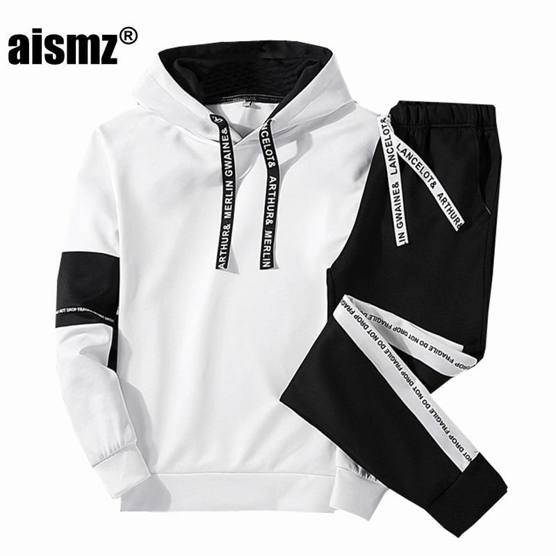 Hosen Sport Casual Mode Set 2019 Männer Hoodie/sweatshirt Mode Casual Sport Pullover Baumwolle Hoodie Zwei-stück Set Herrenbekleidung & Zubehör