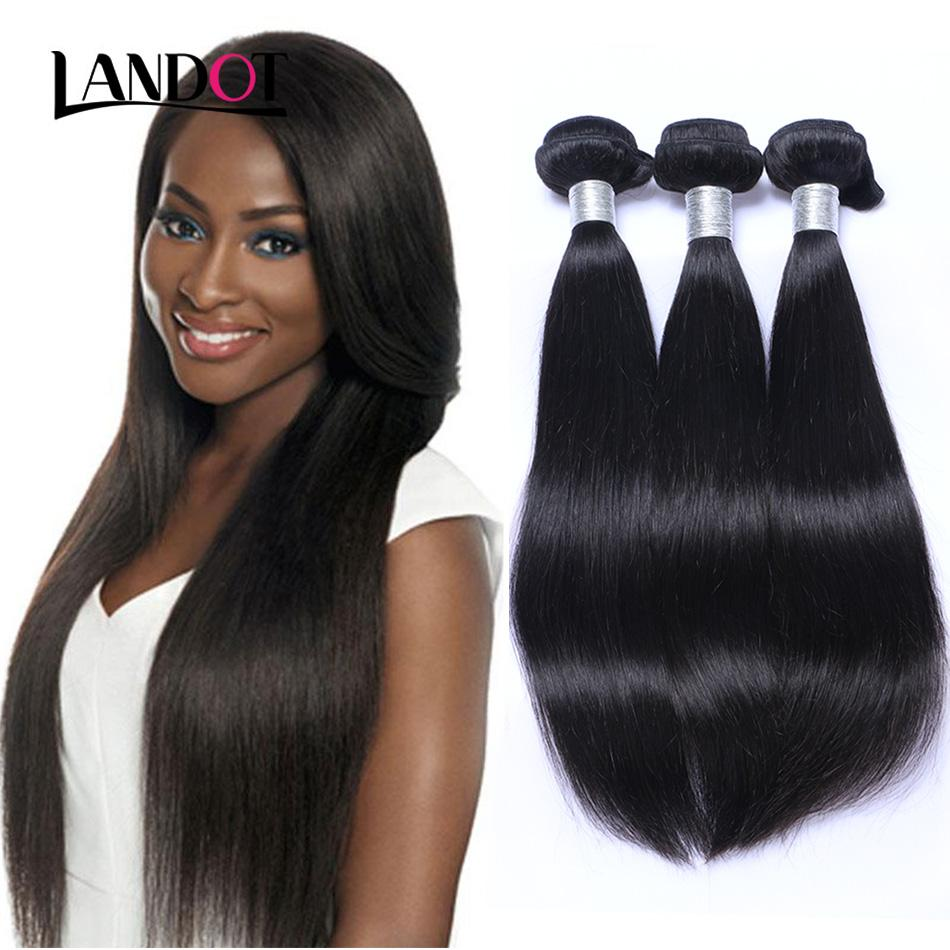 8a Brazilian Virgin Human Hair Weave Bundles Unprocessed Brazilian