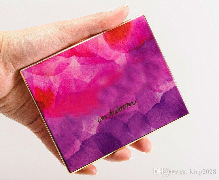 Ombre à paupières palette 12 couleurs Ombre à paupières Bloom Palette d'argile naturelle haute performance Ombre à paupières avec livraison gratuite