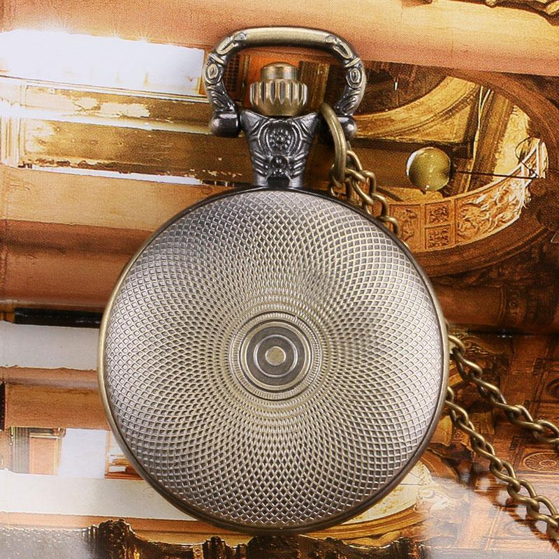 New Cool Retro Full Hunter Pendant Winter is Coming House Stark Game of Thrones Style Men Women Pocket Watch with Necklace Chain