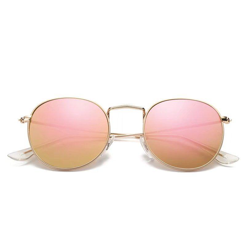 2018 New 3447 Steampunk Sonnenbrille Frauen Männer Metallrahmen Doppel Brücke uv400 Linse Retro Vintage Sonnenbrille Brille