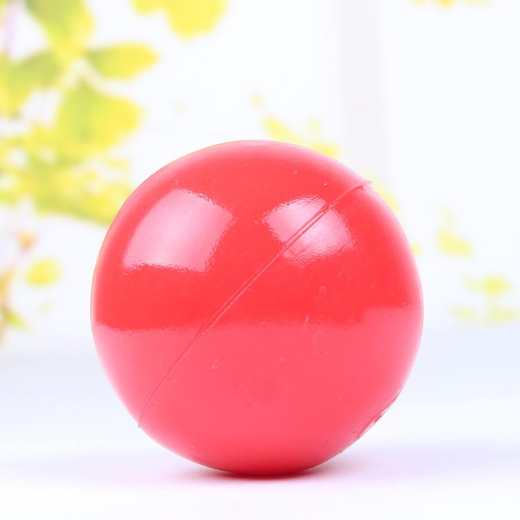Hot Fashion Red Smooth Indestructible Dog Chew Toy Solid Pet Ball Training Toys S M L Size Free Dropshipping