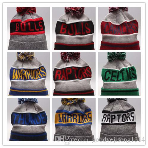 Wholesale New Winter Beanie Knitted Hats Sports Teams Baseball Football  Basketball Beanies Caps Women Men Winter Warm Hat DHL Sports Beanies Online  with ... 88c6d739eee