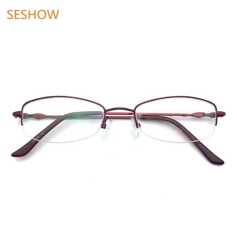 2019 New Fashion Business Men S Glasses Metal Half Rimmed Spectacle