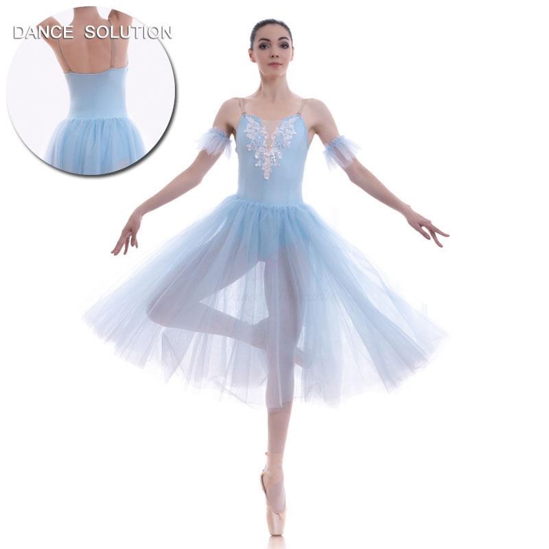 15153e9695e5 2019 Swan White Romantic Ballet Tutus For Girls And Women Long ...