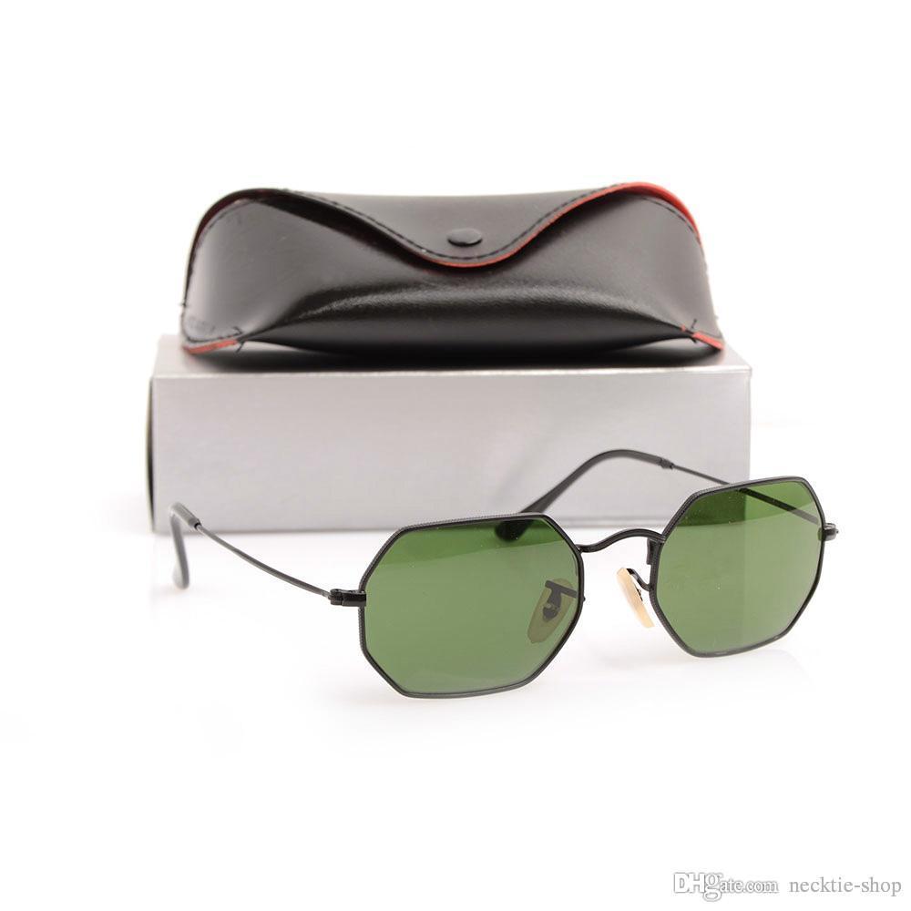 Compre 2019 Óculos De Sol De Alta Qualidade 3556 Nova Moda Óculos De Sol  Para Homem Mulher Óculos De Marca Designer De Óculos De Sol Octogonal Óculos  De Sol ... 98d4693183