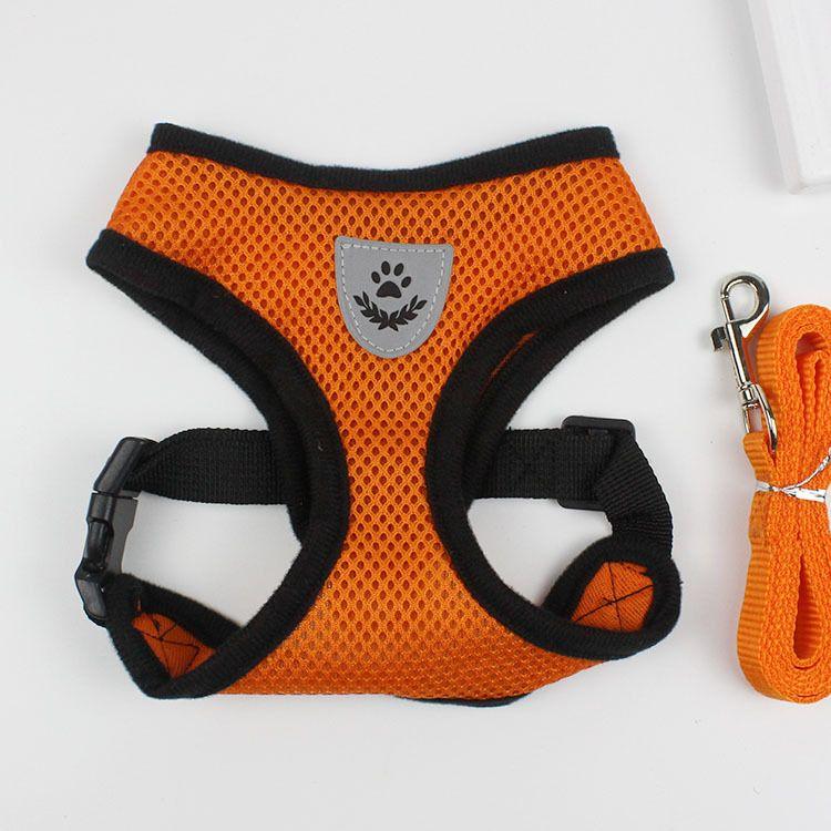 1.2M Pet Traction Rope es perrito arnés chaleco collar pequeño perro cuerda collar correa de mano para mascotas perrito