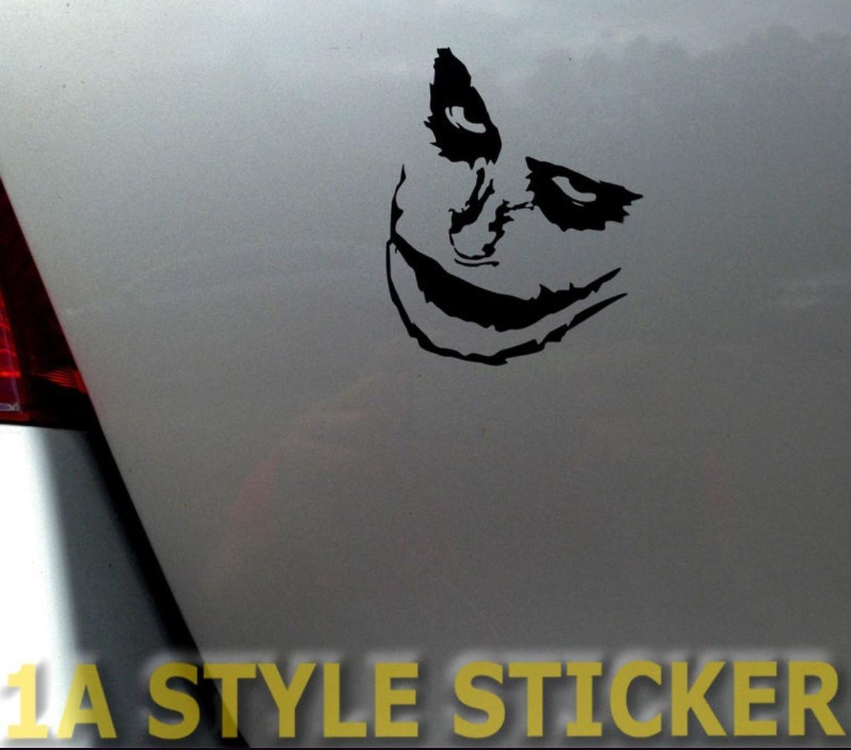 2019 car styling for joker sticker pokerface jokerkarten the joker skull decal joker batman iron cros from redchinatown 1 01 dhgate com