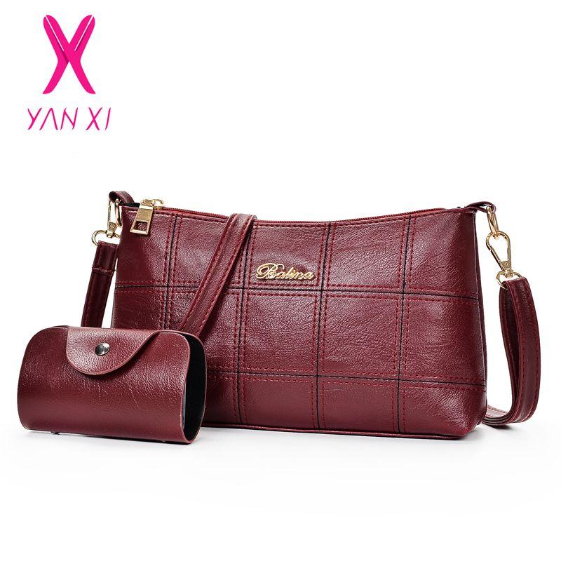Yanxi Women Leather Handbags Designer Composite Bag Women Messenger Bags  Female Casual Tote Bag Crossbody Bags For Crossbody Bags Satchel From  Caspink f058ec7869c4f