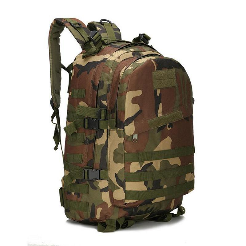 55L 3D Deporte al aire libre Ejército Gear Tactical montañismo montañismo Mochila Senderismo Trekking Mochila Viaje bolsa al aire libre