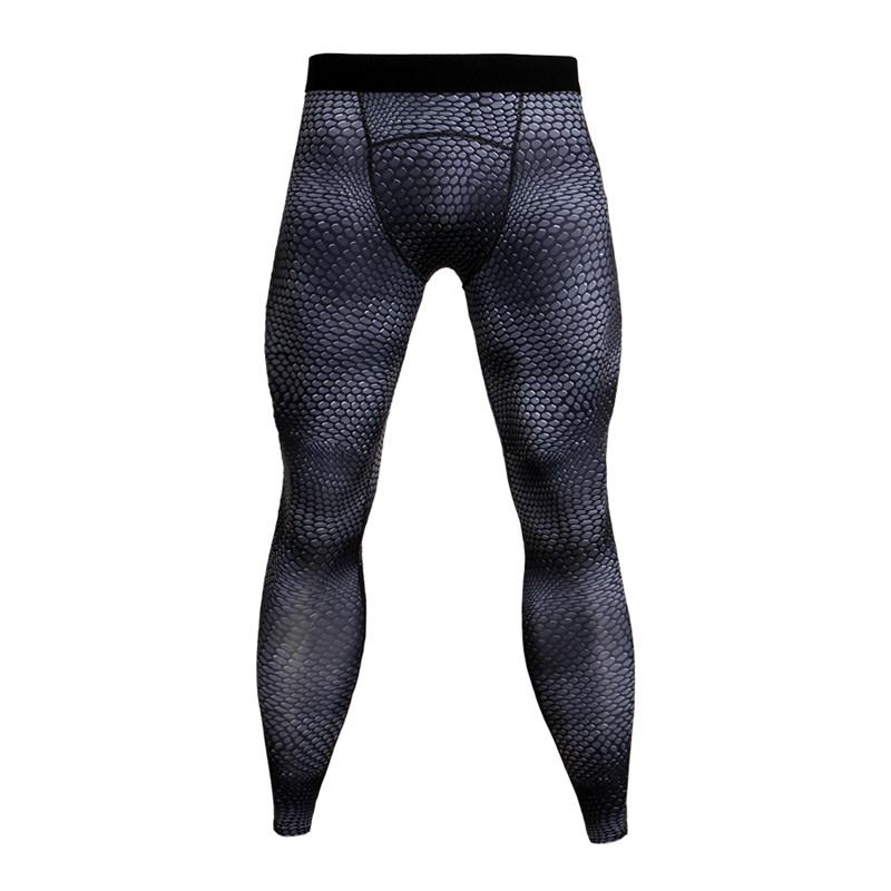 Honest Men Gym Compression Sports Tights Running Quick Dry Fitness Cropped Pants Activewear Activewear Bottoms