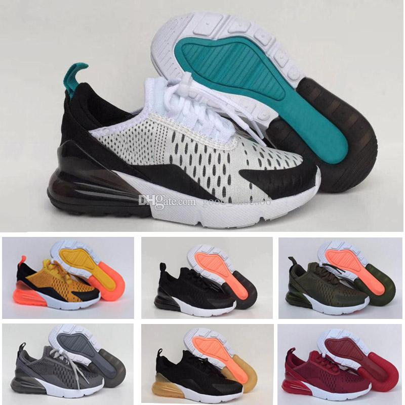 cheap for discount a5365 be0bc Compre Nike Air Max 270 27c Niños Tiger 270 Niños Zapatillas Dusty Cactus  Negro Blanco Oro Rosado Niñas Y Niños Zapatos Deportivos Infantil 27c  Medium Olive ...