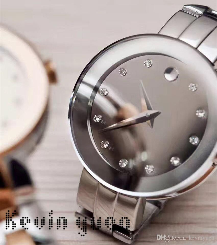 0150aec2b1d3 Circle Sty New Luxury New Fashion Women s Dress Stainless Steel Wristwatch  Mini Ultra-Thin Designer Watch Women Girt Party Gift Chronograph Watch Brand  ...