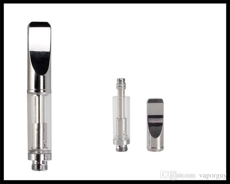 thick oil cartridge glass atomizer 510 thread vape pen mini co2 oil vaping  device glass open vape atomizer mini buddy vape e cig