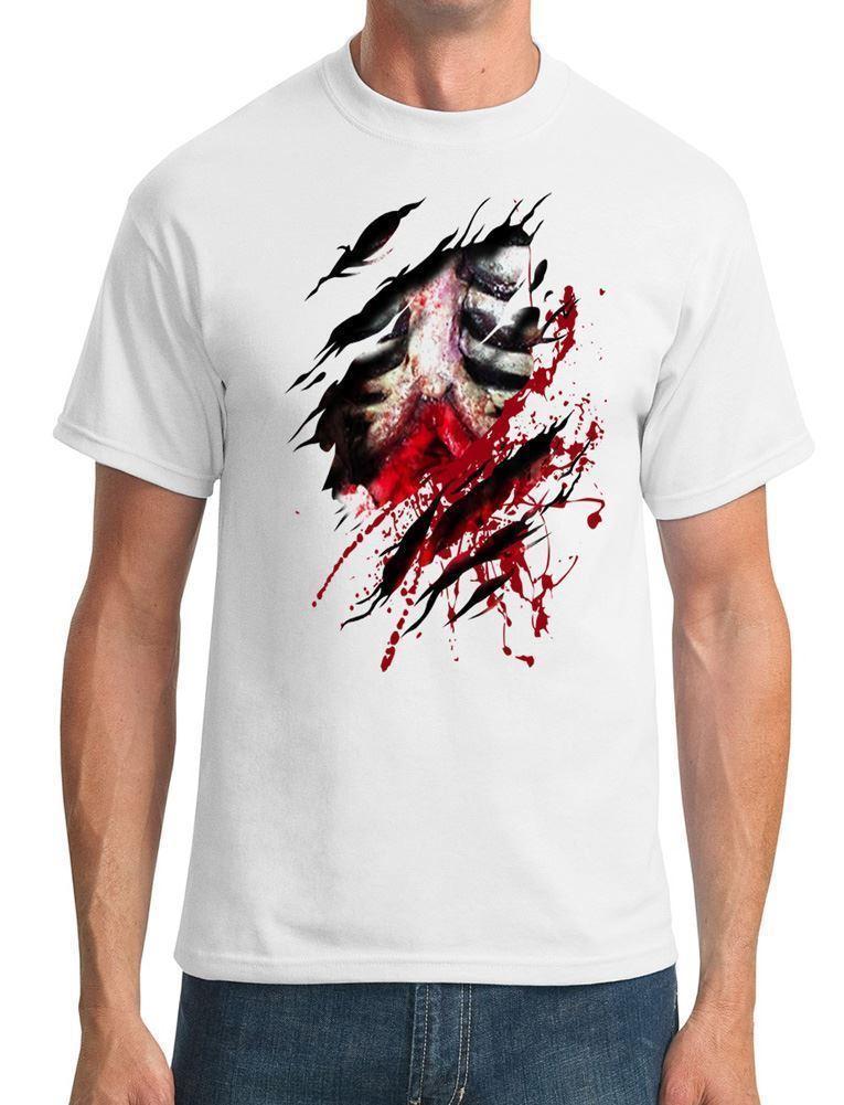 And Camiseta Hombre Guts Walking Para Ribs De Dead Rota Zombie Diseño I2Y9HeWEDb