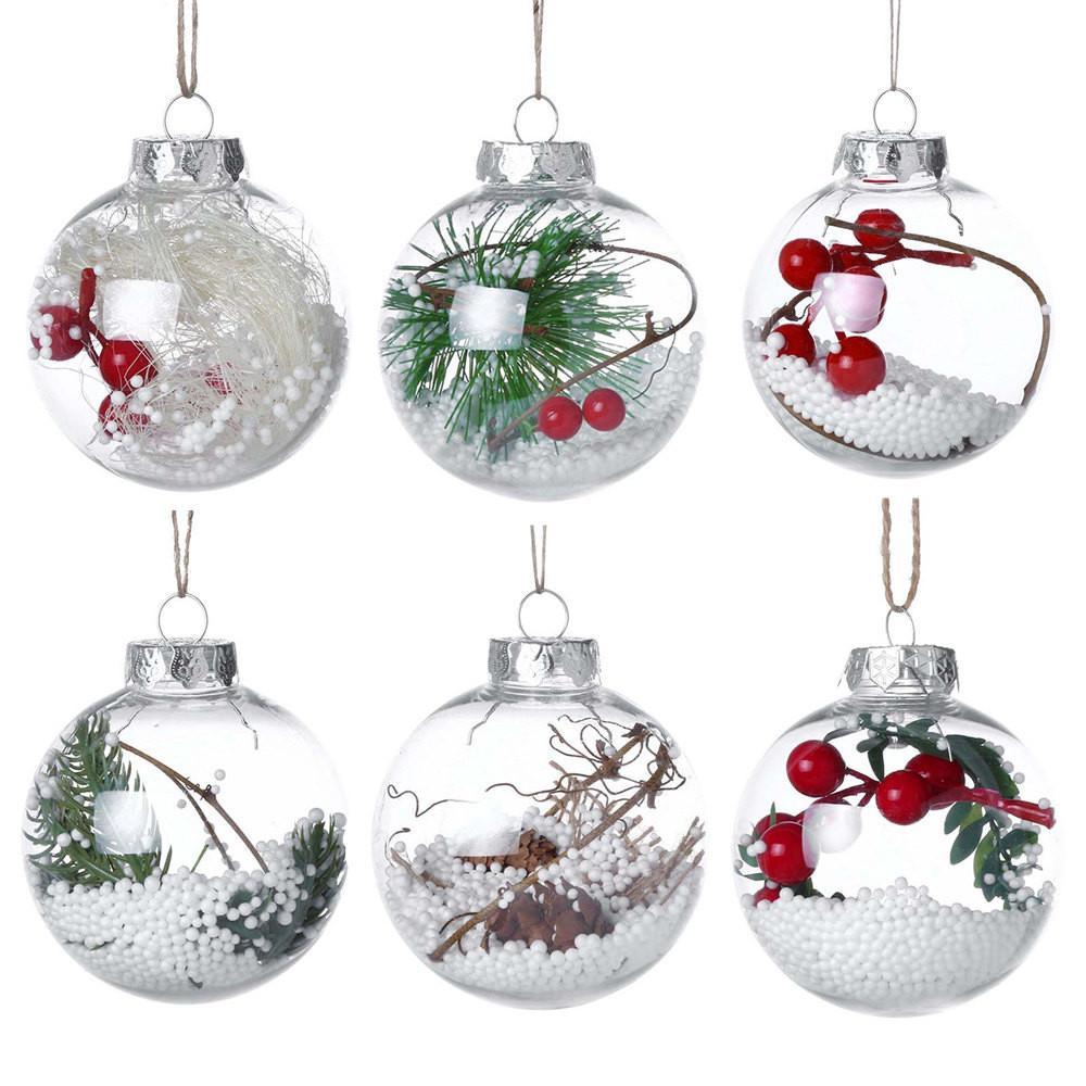 Christmas Tree Drop Ornaments Xmas Pendant Hanging Ball Christmas ...