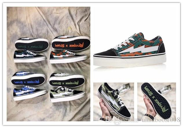 2018 Classic Yezee Calabasas Stylist Ian Connors Revenge X Storm Old Skool Camo Sneakers kanye west calabasas Casual Shoes Men Women pictures sale online bVK2kud