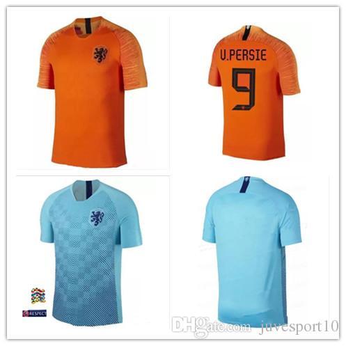 newest c4e85 77314 NEW Nederland soccer jersey 2019 netherlands home away shirt 18 19 top  quality ROBBEN MEMPHIS DEPAY V.Persie Dutch VIRGIL football shirts