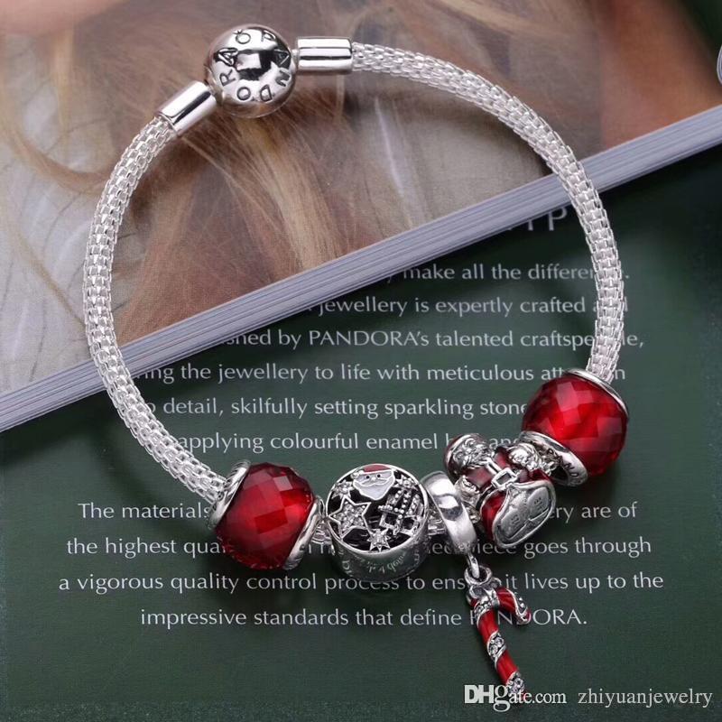 Großhandel 3 Modelle Top Geschenke Weihnachten Charme Armbänder Top ...
