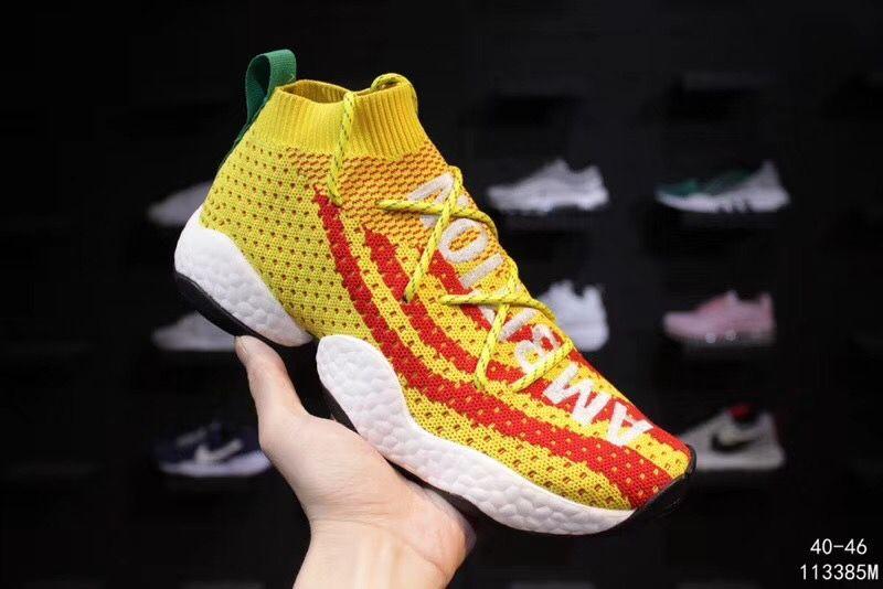 043db58e6 Wholesale 1 Basketball Shoes Pharrell X Crazy BYW LVL 1 Boots Men ...