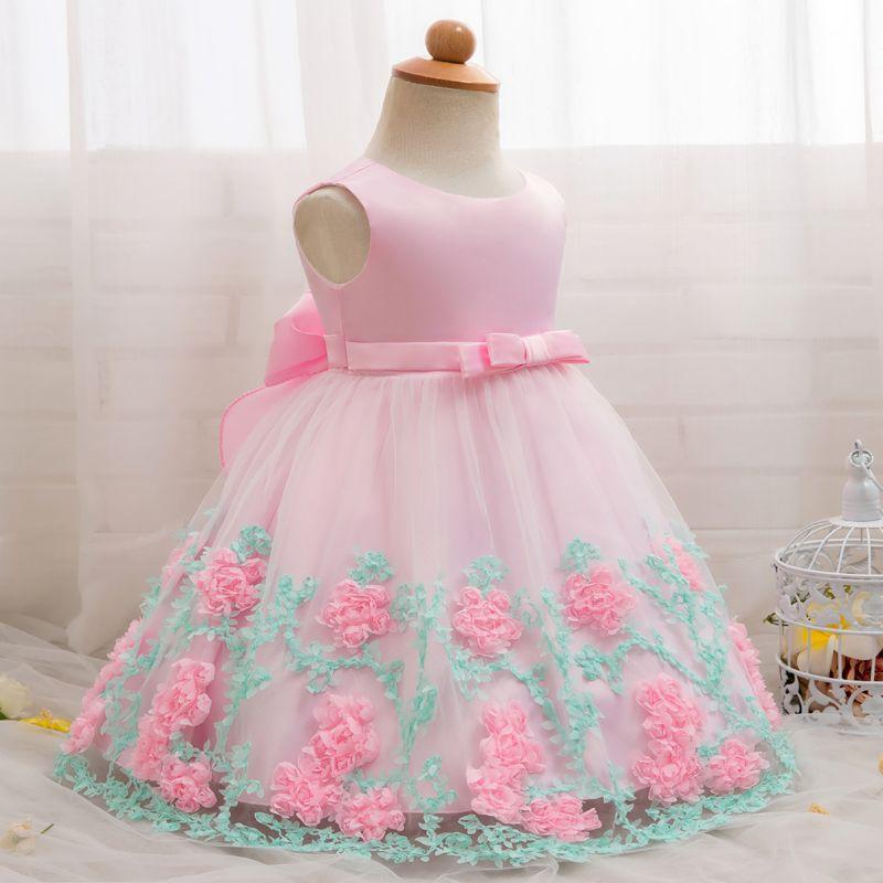 0df375b66 2019 Vintage Baby Girl Dress Baptism Dresses For Girls 1st 1 Year ...