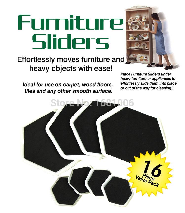 2018 Angular Furniture Sliders 8 Large Slider And 8small Easy Moves Heavy Objects With Ease Protect Floors Fp001 From Kenedy