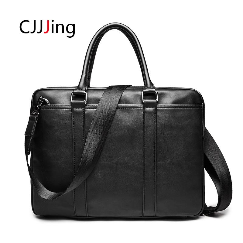Men Office Business Handbags Shoulder Messenger Bags Korean Style Crossbody Bag Mens Briefcase Laptop Bag CJJJing