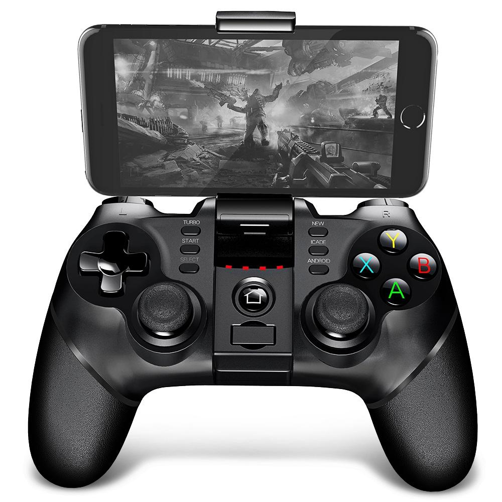 GP Gamepad Sem Fio iPega Bluetooth Controlador de Jogo Gamepad Lidar com TURBO Joystick para Android / iOS Tablet PC Celular TV Box