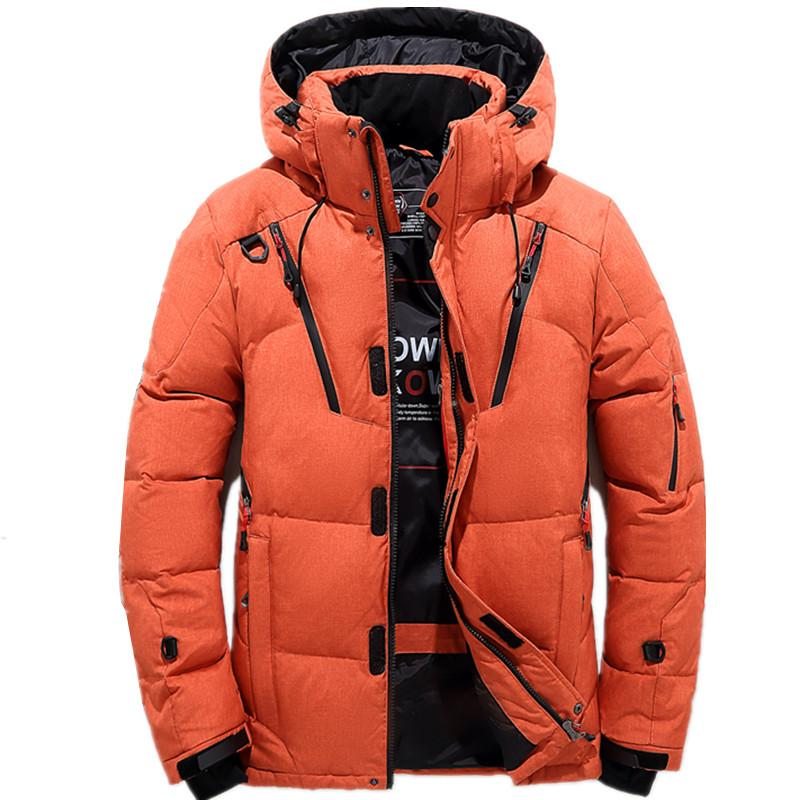 107a5e43e34c8 2019 2018 High Quality 90% White Duck Thick Down Jacket Men Coat Snow  Parkas Male Warm Brand Clothing Winter Down Jacket Outerwear From  Xisibeauty