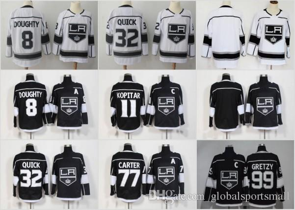 Mens Los Angeles Kings Hockey Jerseys 11 Anze Kopitar 32 Jonathan ... ae9e996eb