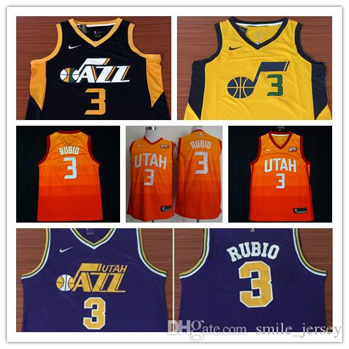 2018 2019 New Mens 3 Trey Burke Utah Jazz Basketball Jerseys Authentic  Stitched Embroidery Mesh Dense AU Jazz Trey Burke Basketball Jerseys From  Weng jersey ... 97de18d75