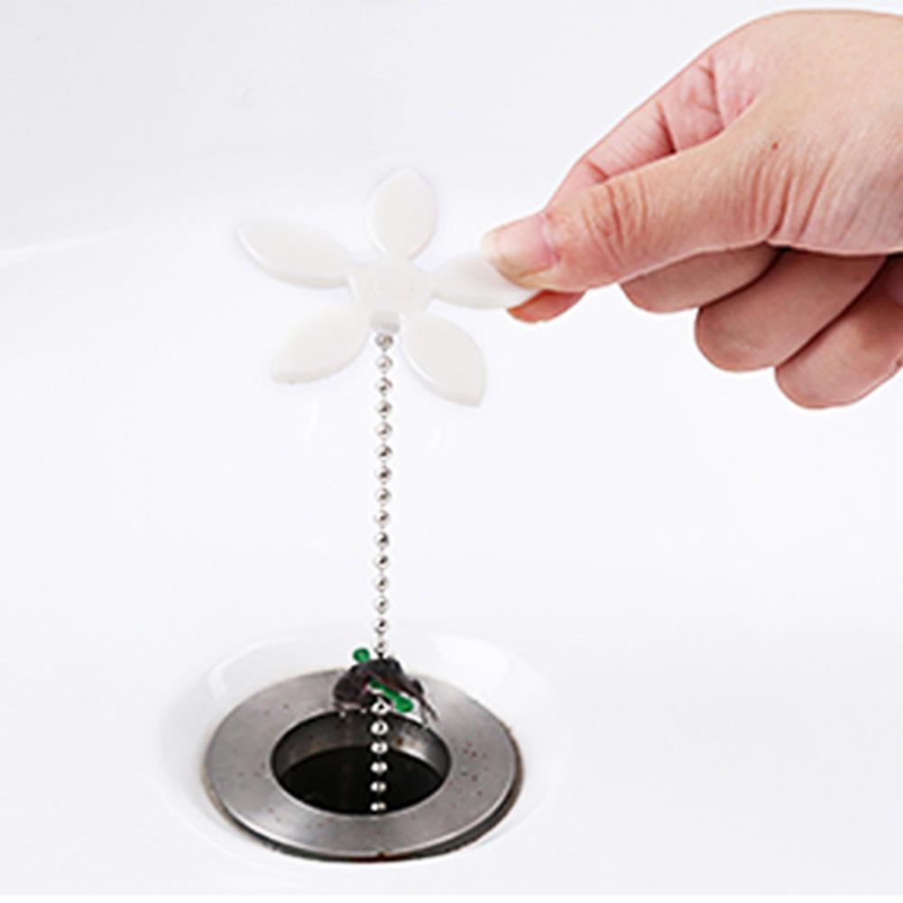 2 Pcs Chuveiro Ralo Catcher Stopper Clog Sink Coador de Cozinha Banheiro Esgoto Dreno Limpo Filtro Cinta Gancho Da Tubulação