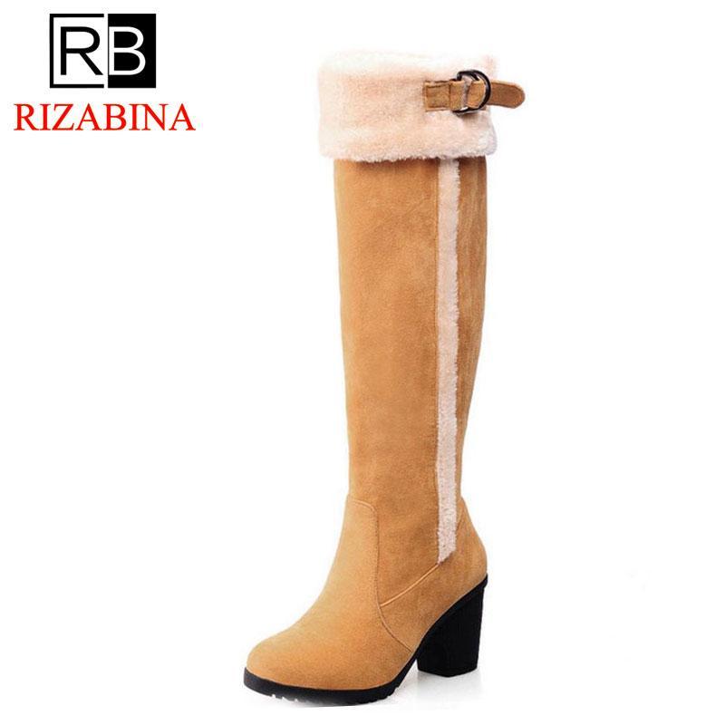 e489d140795 Cheap Leather Thigh High Boots Plus Size Best Korean Knee High Boots Fashion