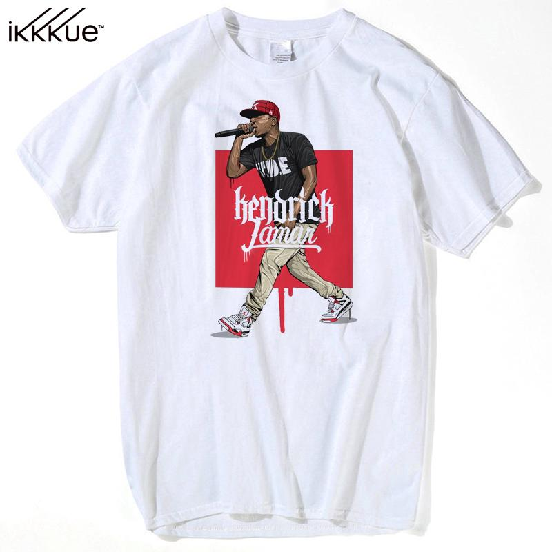 Custom Designed Clothing | Branded Custom Designer Rapper T Shirt Kendrick Lamar Tee Men Youth