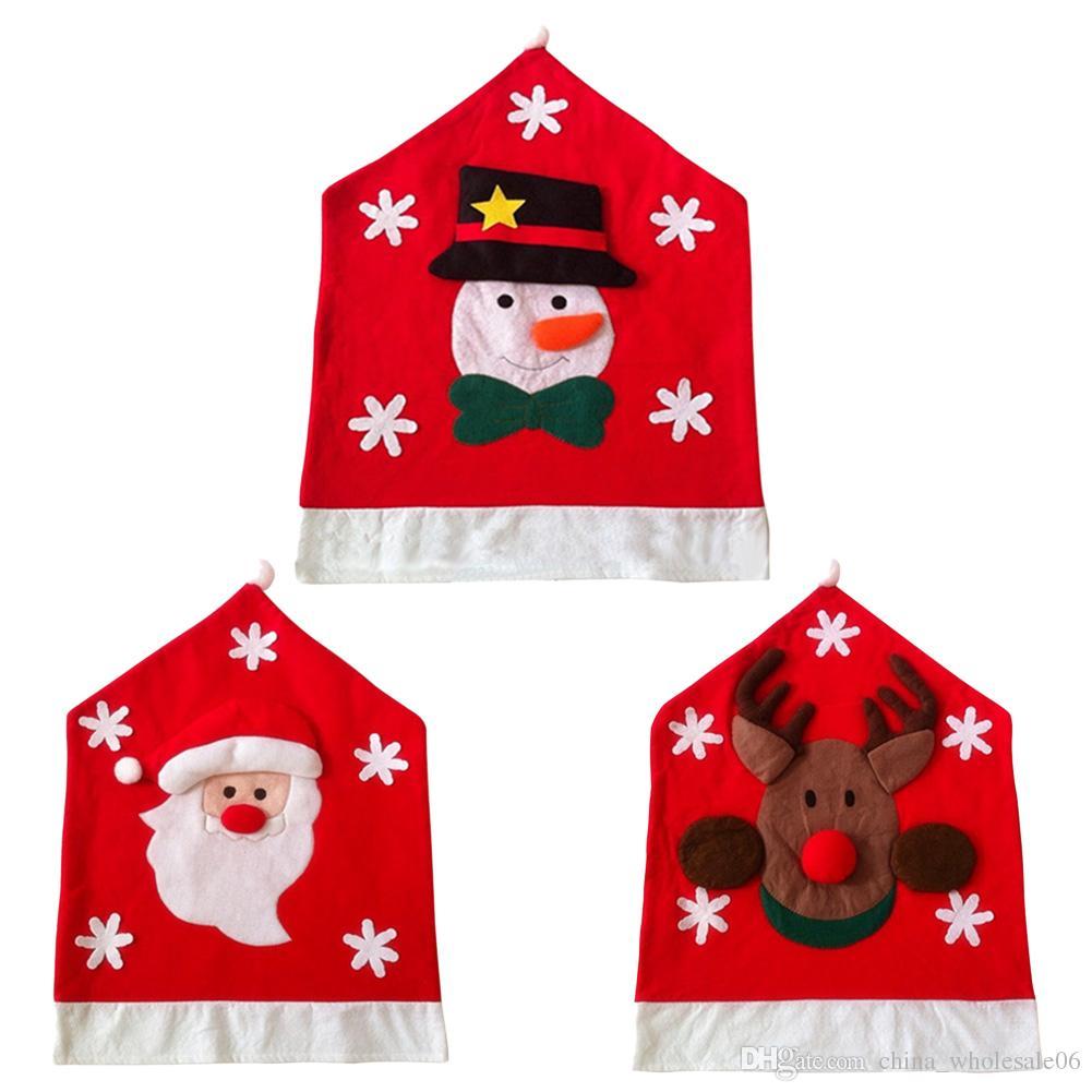 Großhandel Weihnachten Weihnachtsmann, Weihnachten Schneemann Gewebt ...