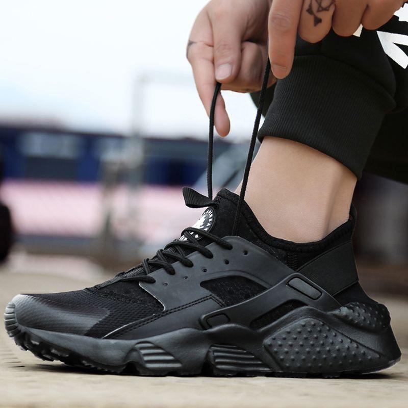 Classic Four Army Green Black Pink Black White Men & Women's Huarache Shoes Huaraches Shoes Sneakers Size 36-47 Air Huarache view cheap online discount browse lyBpgojpSA