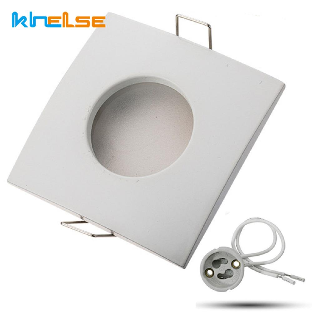 IP65 Waterproof Ceiling Frame Lights Recessed Lighting Kits Bathroom ...