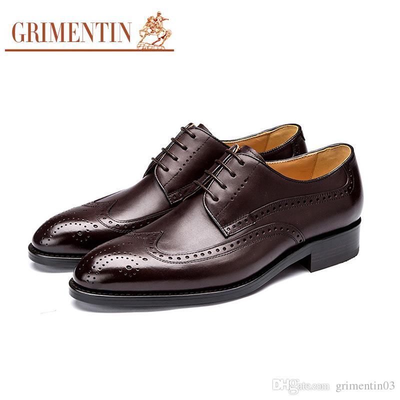 Großhandel Grimentin 2018 Neueste Uk Vintage Herren Oxfords Schuhe ...