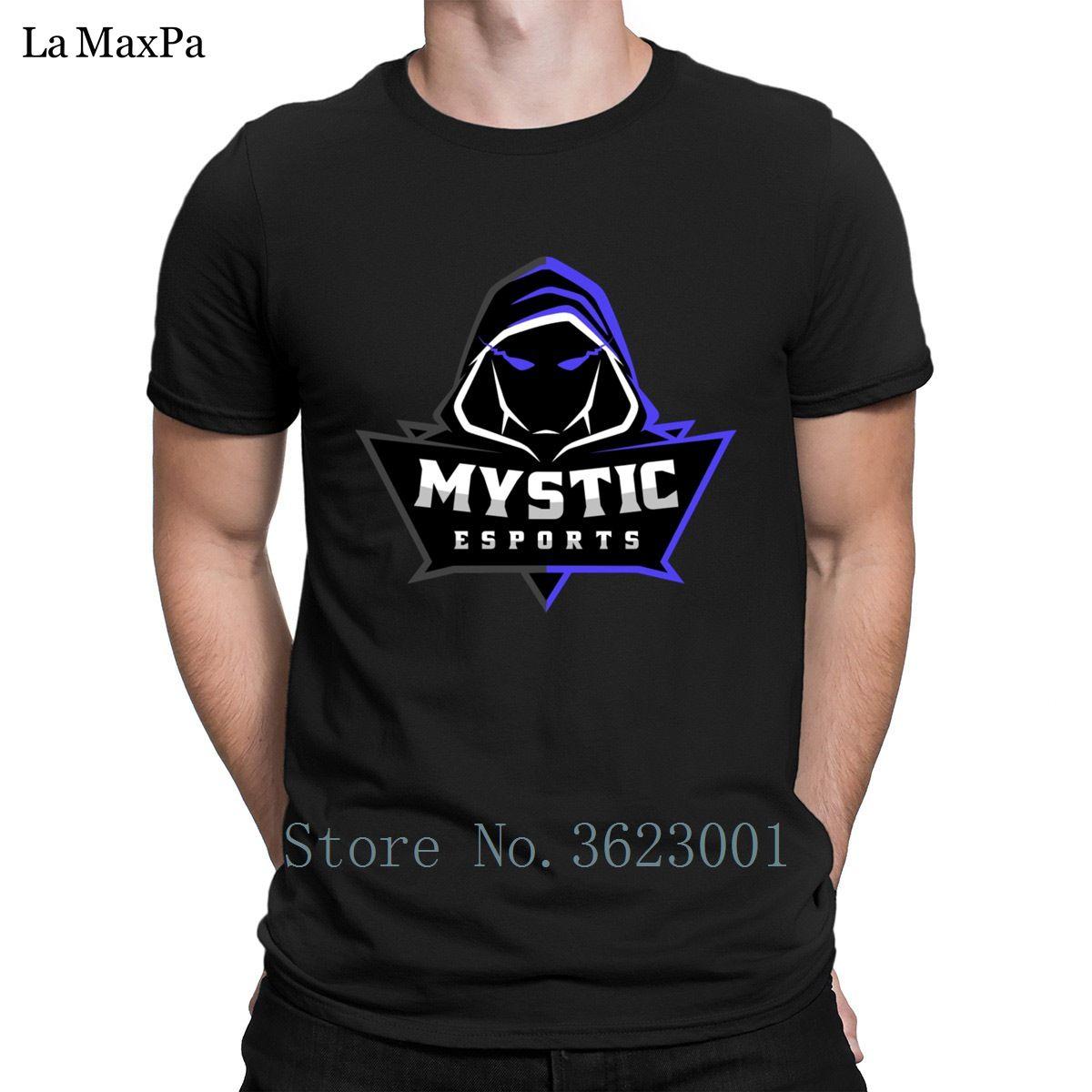 5c9458f6f The New Men S Tee Shirt Mystic Esports Logo Purple T Shirt For Men Sunlight  T Shirt Man Natural Tshirt S 3xl Tee Tops Best Funny T Shirts Really Cool T  ...